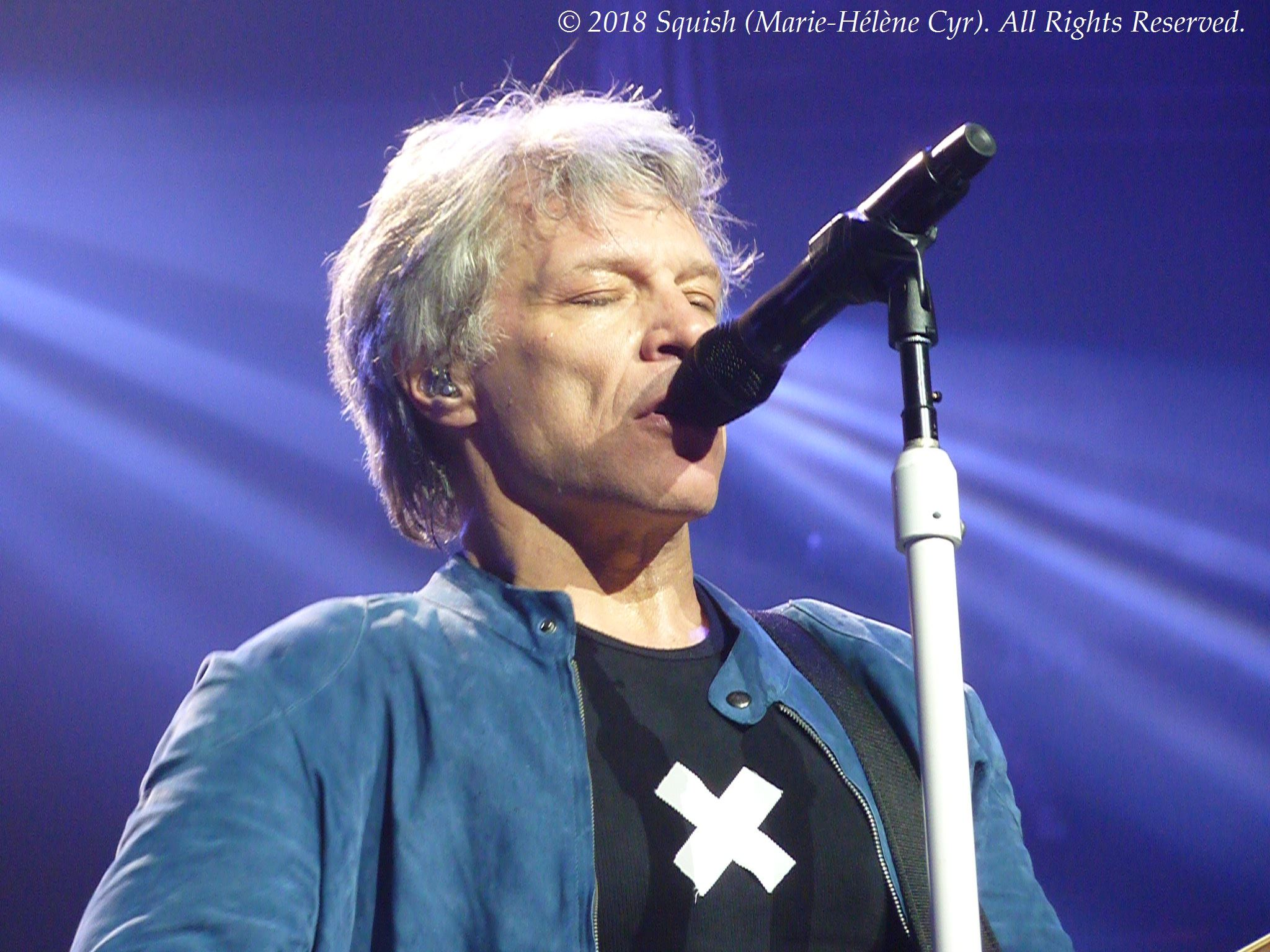 Bon Jovi - Bell Centre, Quebec, Canada (May 18, 2018)
